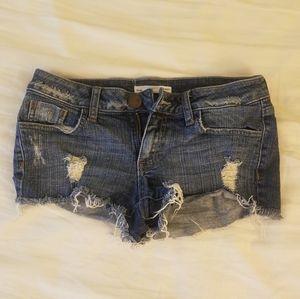 2.1 denim jean shorts size small